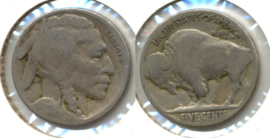 1924-S Buffalo Nickel About Good AG-3 e