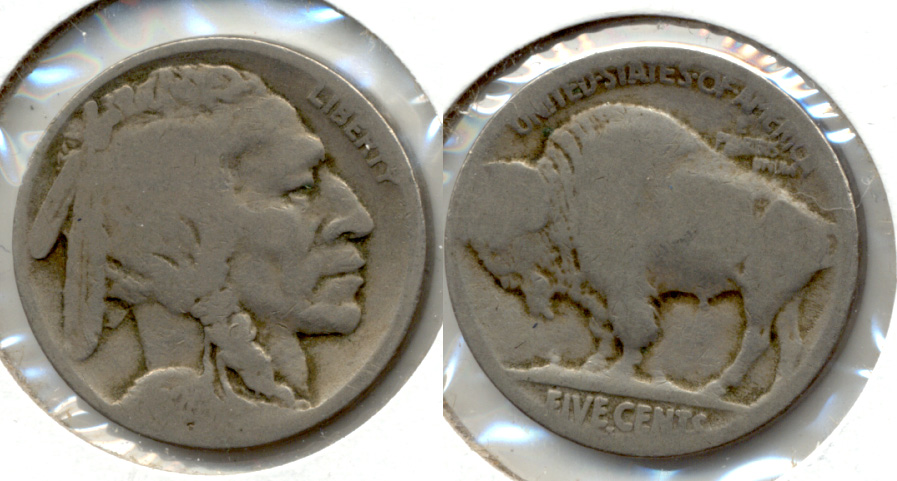 1924-S Buffalo Nickel Fair-2 b