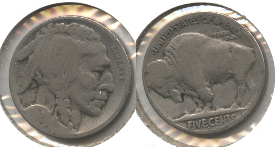 1926-S Buffalo Nickel AG-3 #d