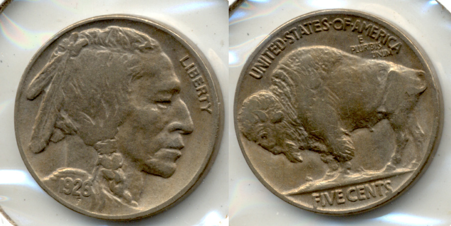 1926 Buffalo Nickel EF-40 b
