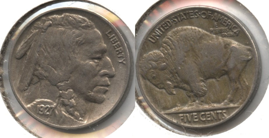 1927 Buffalo Nickel AU-50