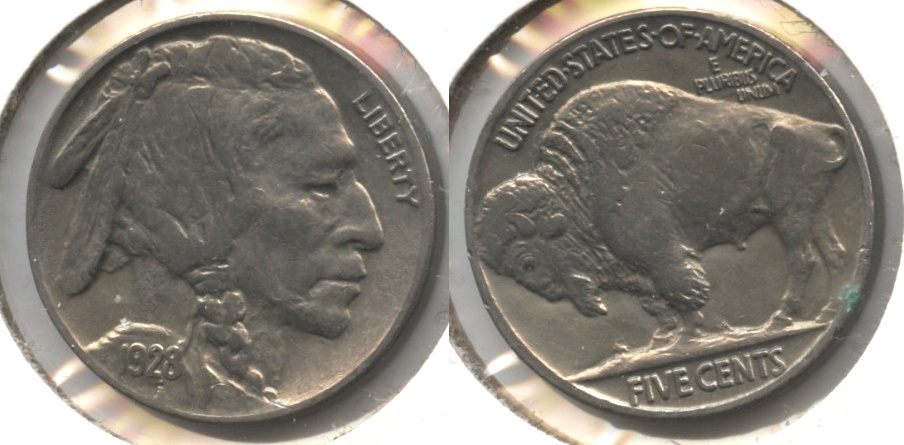 1928 Buffalo Nickel AU-53