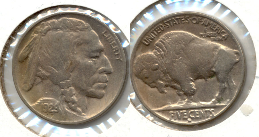 1929-D Buffalo Nickel EF-40
