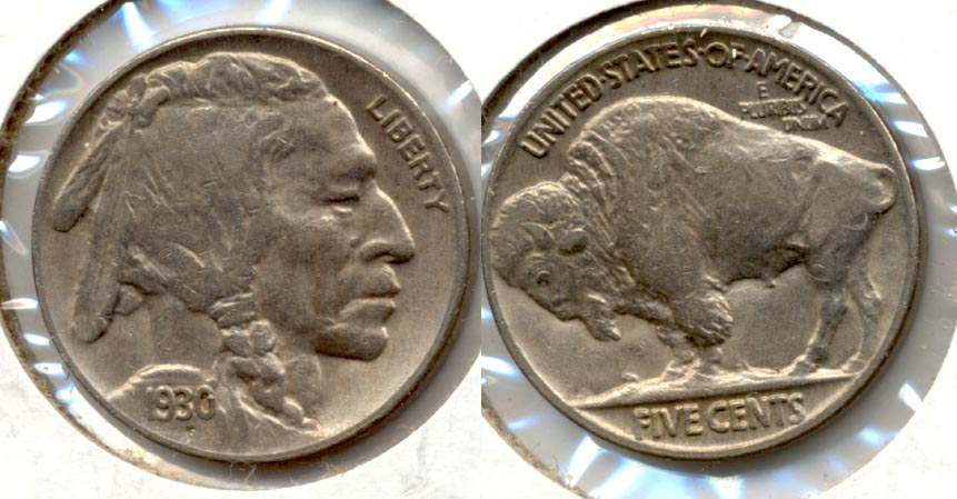 1930 Buffalo Nickel EF-45