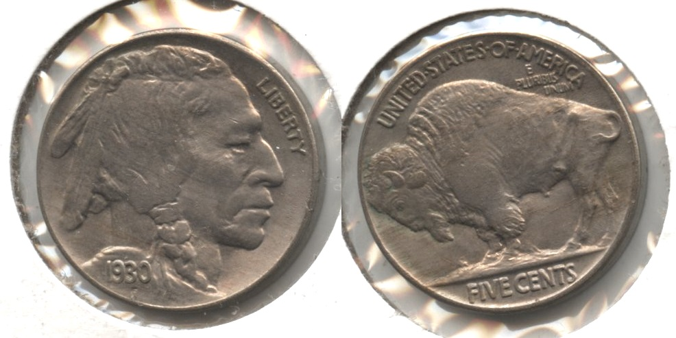1930 Buffalo Nickel MS-60