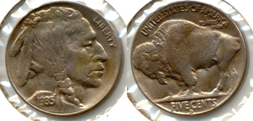 1935-D Buffalo Nickel MS-63