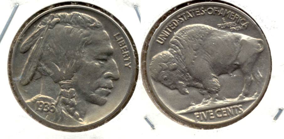 1936 Buffalo Nickel AU-50 h