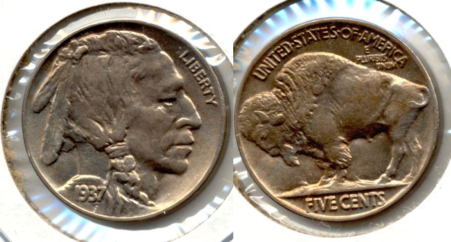 1937 Buffalo Nickel MS-63 b