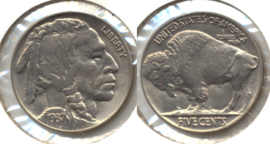 1937 Buffalo Nickel MS-63 f