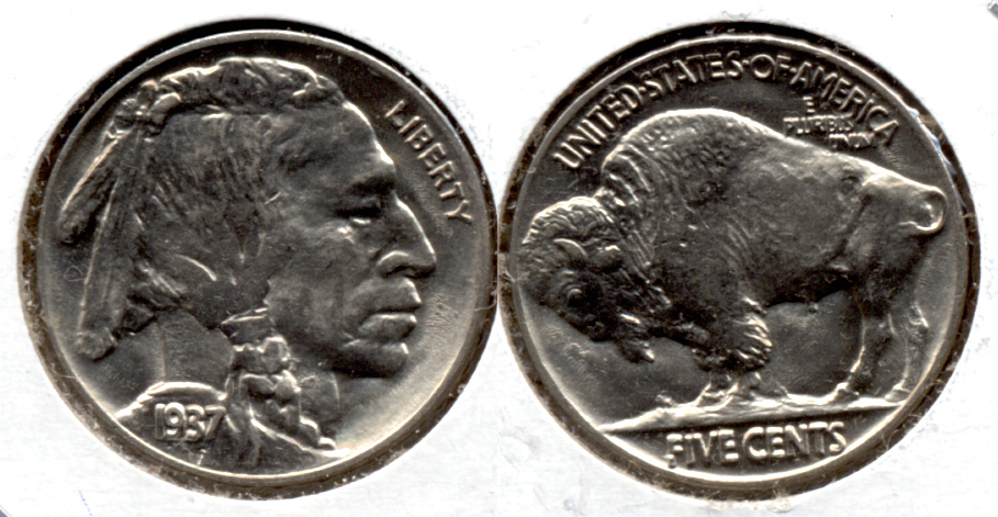 1937 Buffalo Nickel MS-64