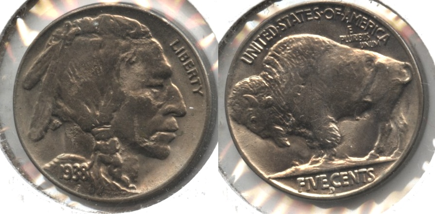 1938-D Buffalo Nickel MS-63 #b