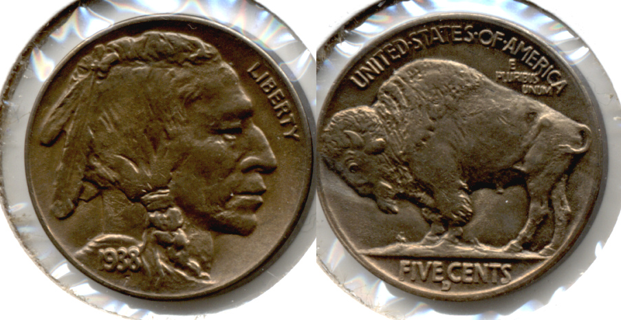 1938-D Buffalo Nickel MS-64 c