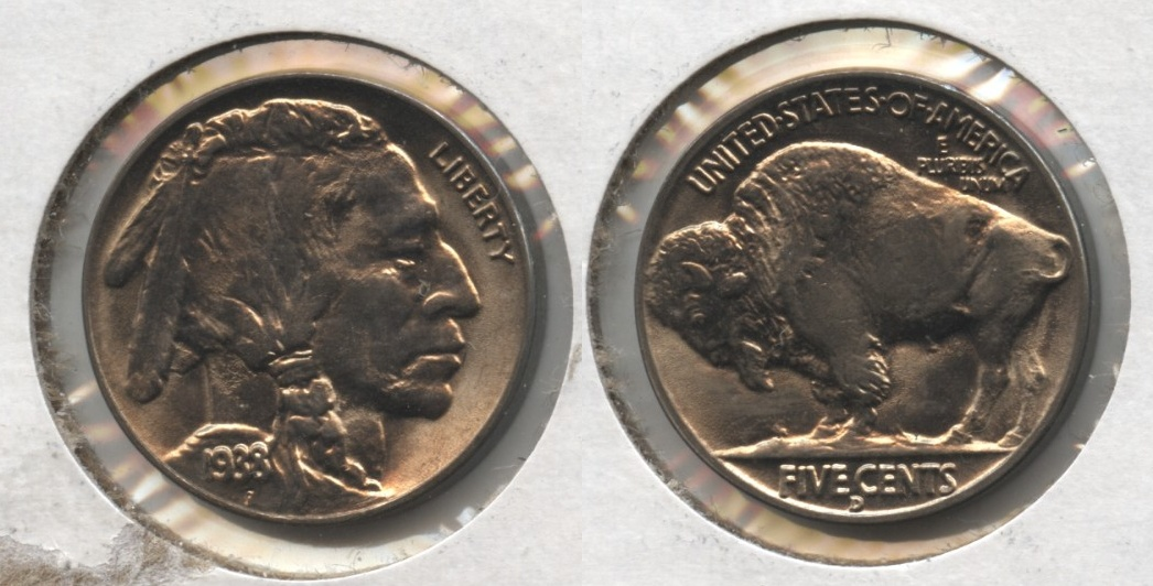 1938-D Buffalo Nickel MS-64 #e
