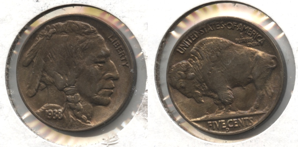 1938-D Buffalo Nickel MS-64 #f