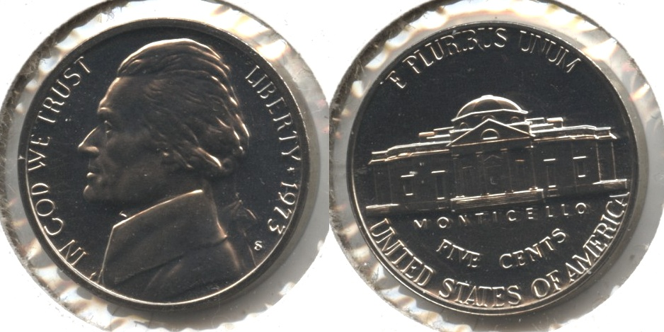 1973-S Jefferson Nickel Proof