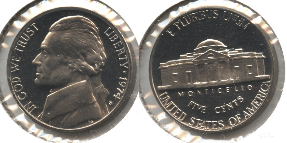 1974-S Jefferson Nickel Proof