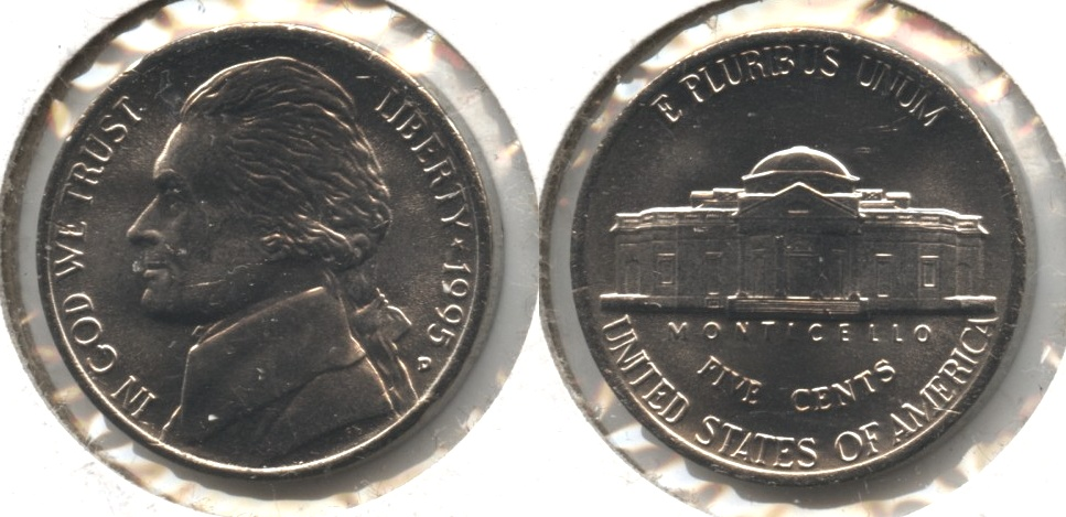 1995-P Jefferson Nickel Mint State