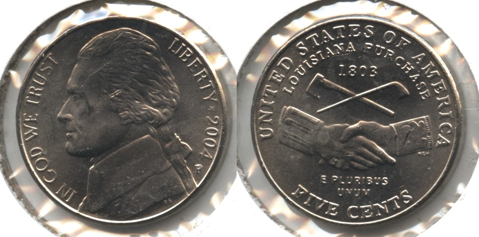 2004-P Peace Medal Jefferson Nickel Mint State