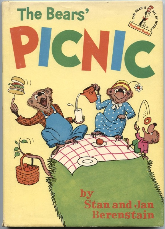 The Bears Picnic by Stan and Jan Berenseain Published 1966