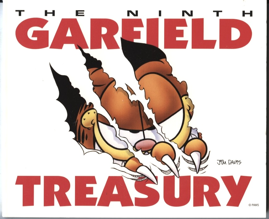 The Ninth Garfield Treasury by Jim Davis Published 1997
