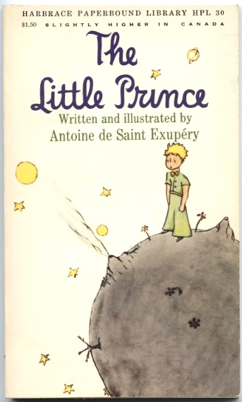The Little Prince by Antoine de Saint Exupery Published 1971