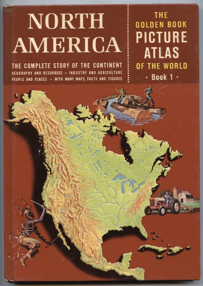 North America by Phillip Bacon Published 1960