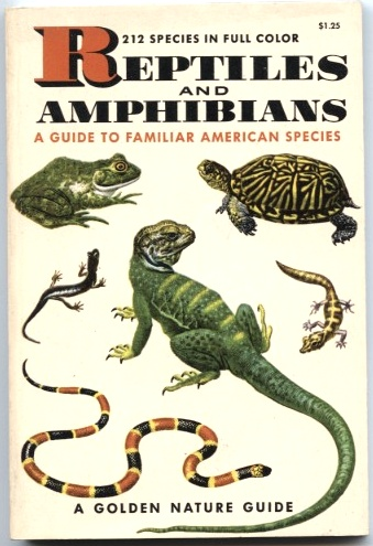 Reptiles and Amphibians by Herbert Zim and Hobart Smith Published 1956