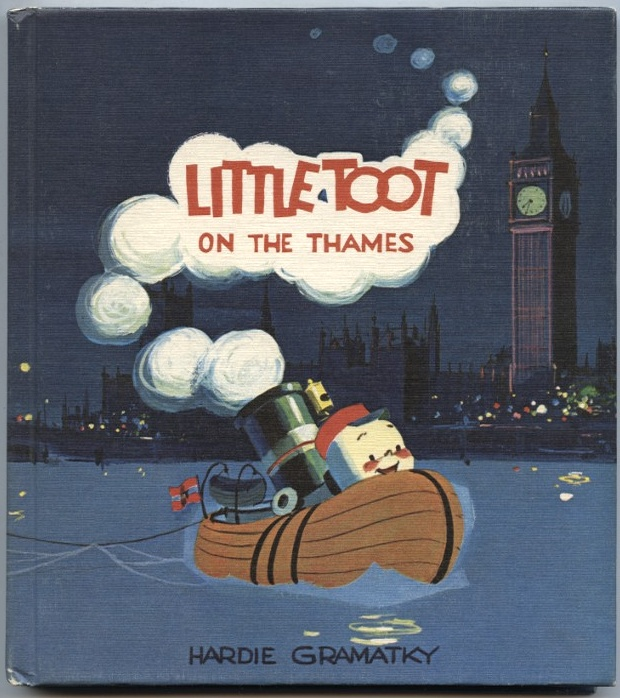 Little Toot On The Thames by Hardie Gramatky Published 1939
