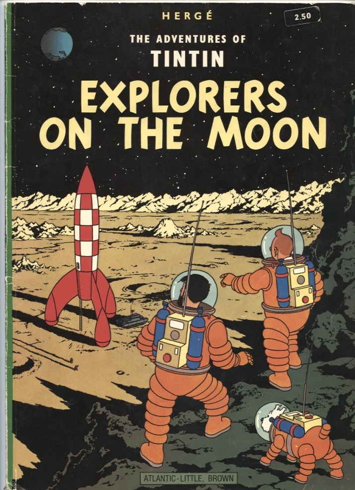 Adventures of Tintin Explorers On The Moon by Herge Published 1976
