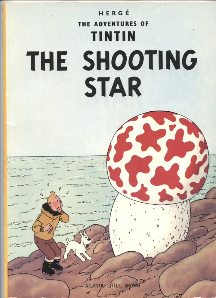 Adventures of Tintin The Shooting Star by Herge Published 1978