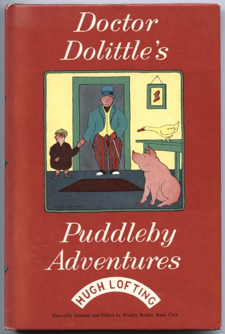 Doctor Dolittle's Puddleby Adventures by Hugh Lofting Published 1952