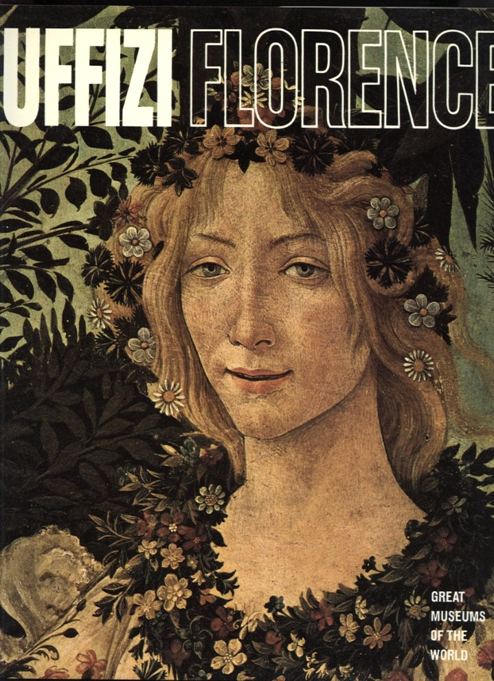 Uffizi Florence by Newsweek Published 1968