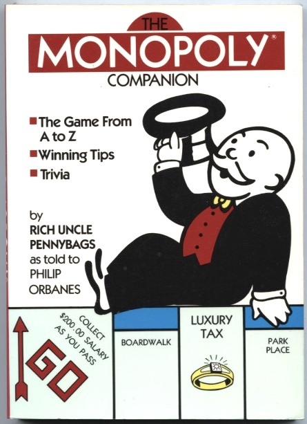 The Monopoly Companion by Philip Orbanes Published 1988
