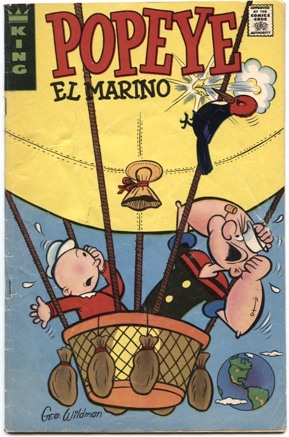 Popeye El Marino by King Features Published 1974