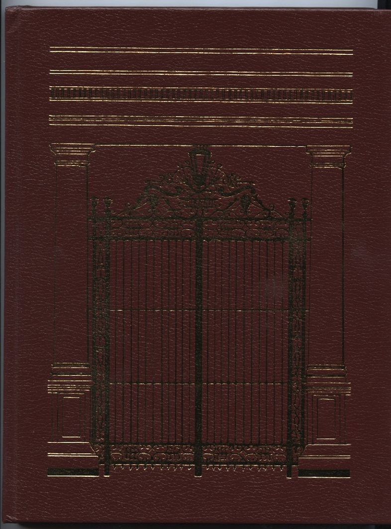 The Metropolitan Club of New York Leatherbound by Paul Porzelt Published 1982