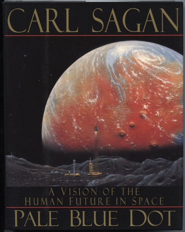 Pale Blue Dot by Carl Sagan Published 1994