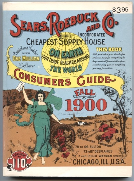 Consumers Guide Fall 1900 by Sears Roebuck And Company Published 1970