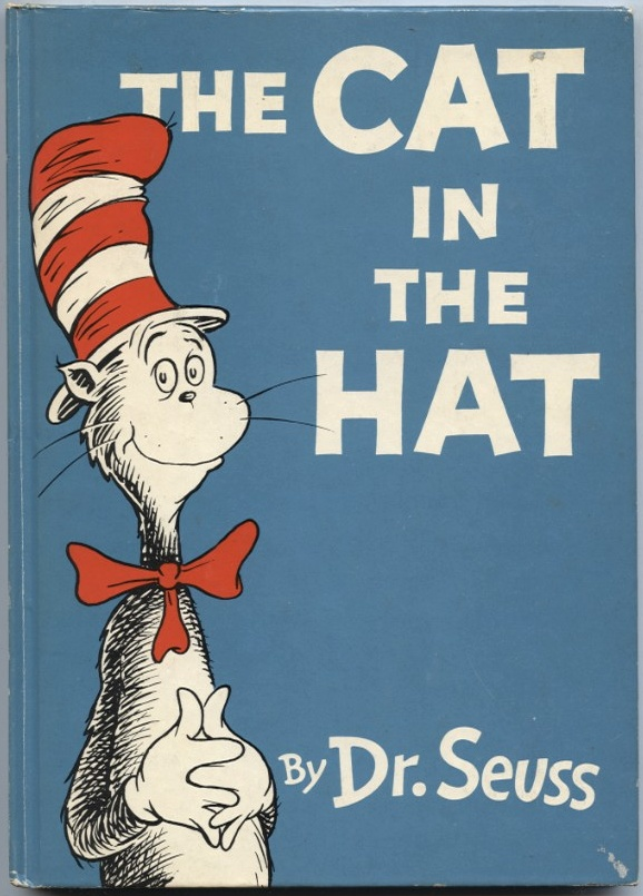 The Cat In The Hat by Dr Seuss Published 1957
