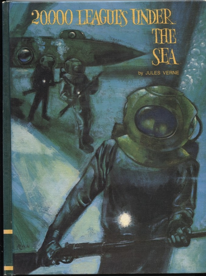Twenty Thousand Leagues Under The Sea by Jules Verne Published 1968