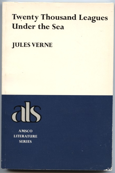 Twenty Thousand Leagues Under The Sea by Jules Verne Published 1980