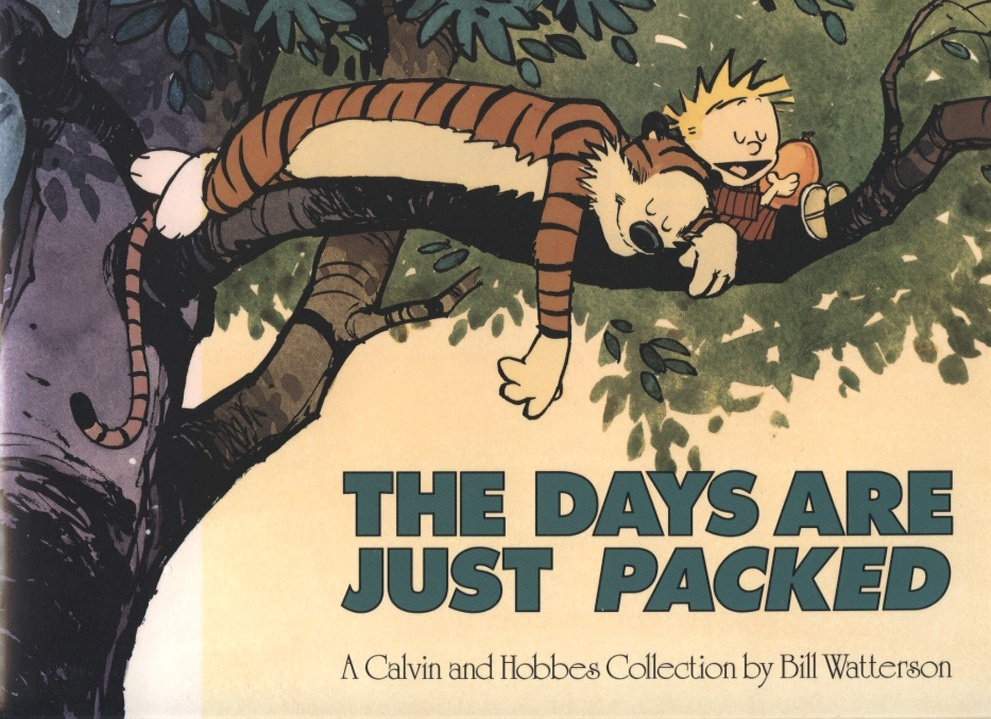 The Days Are Just Packed by Bill Watterson Published 1993