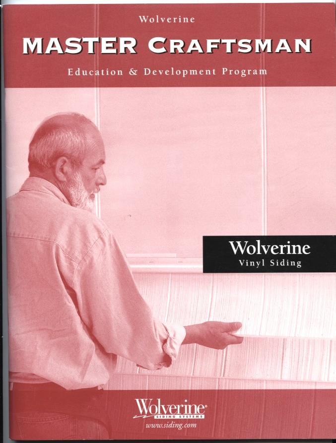 Master Craftsman by Wolverine Siding Systems Published 2002