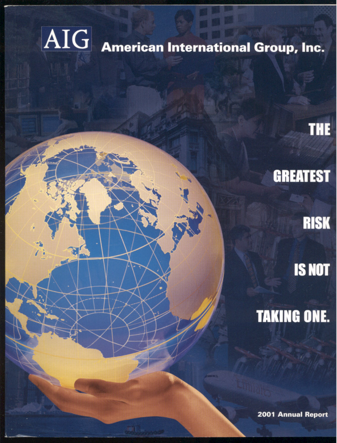 AIG American International Group Inc 2001 Annual Report