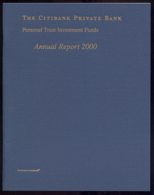 The Citibank Private Bank 2000 Annual Report