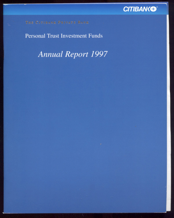 The Citibank Private Bank 1997 Annual Report