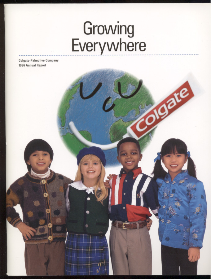 The Colgate Palmolive Company 1996 Annual Report
