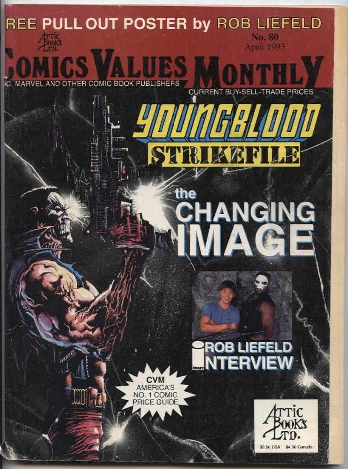 Comics Values Monthly April 1993