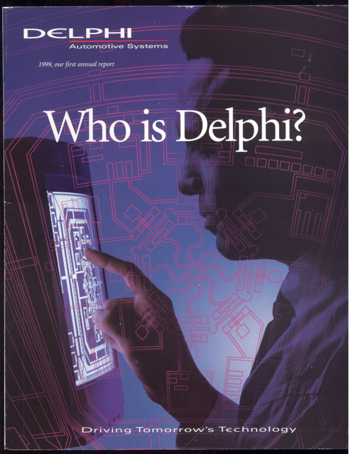 Delphi Automotive Systems 1999 Annual Report