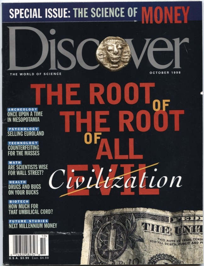Discover Magazine October 1998