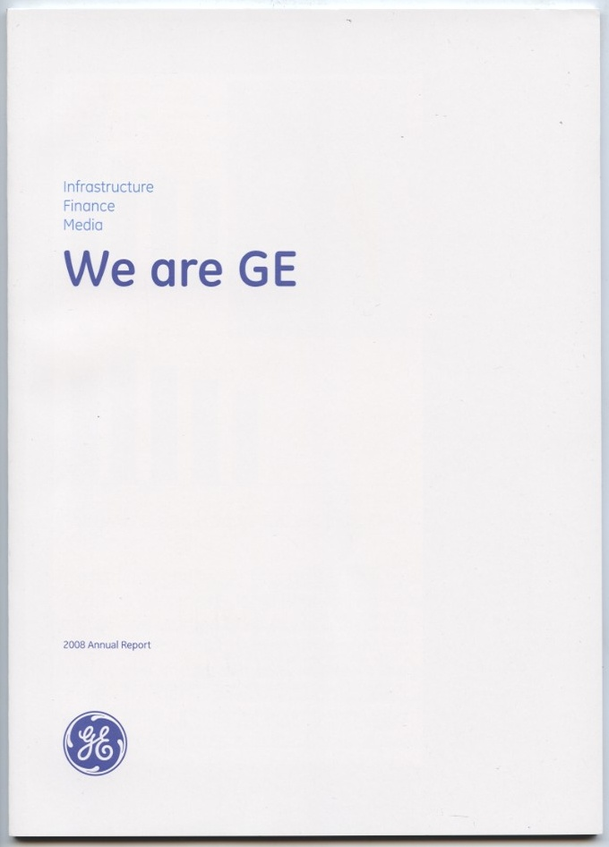 General Electric Company 2008 Annual Report